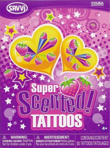 Strawberry Scented Tattoos